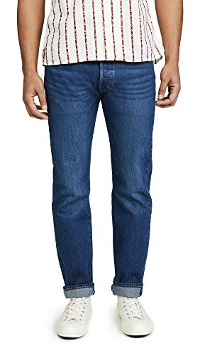 Levis Red Tab Men's Original Fit 501 Denim Jeans, Sponge Warp, 31 (Levis Red Tab Jeans Men)