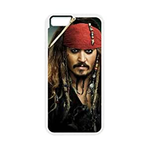 iPhone 6 Plus 5.5 Inch Cell Phone Case White Pirates of the Caribbean0 Phone Case Clear CZOIEQWMXN18735
