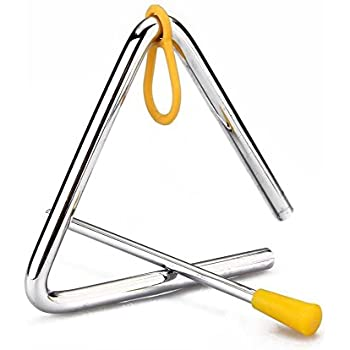 Amazon Com Freedi Musical Instruments Triangle 4 Angle