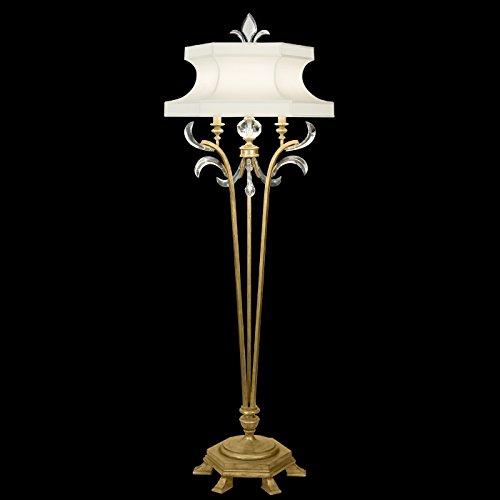 Fine Art Lamps 768620, Beveled Arcs Tall 3 Way Crystal Floor Lamp, 1 Light, 150 Total Watts, (Beveled Arcs)