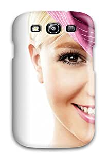 Fashionable Style Case Cover Skin For Galaxy S3- Women Face