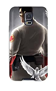 Premium Galaxy S5 Case - Protective Skin - High Quality For Team Fortress 2