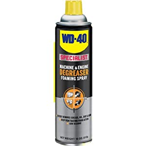 WD-40 300070 Specialist Foaming Machine and Engine Degreaser 18 OZ (Pack of 4)