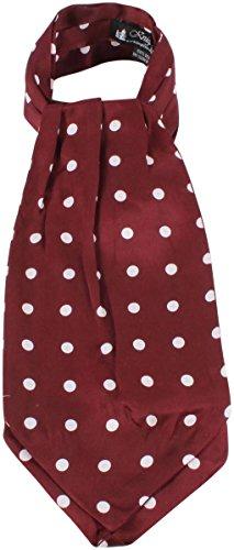 Knightsbridge Neckwear Mens Polka Dot Silk Cravat - ()
