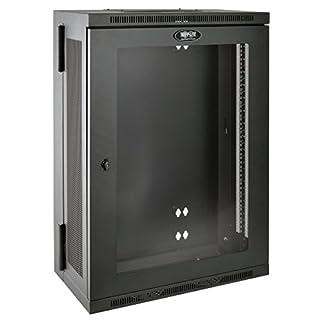"Tripp Lite 18U Wall Mount Rack Enclosure Server Cabinet with Acrylic Glass Window, Hinged, 13"" Deep, Patch-Depth (SRW18US13G) (B017YUBMKK) | Amazon price tracker / tracking, Amazon price history charts, Amazon price watches, Amazon price drop alerts"