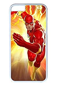 iPhone 4 4s Case, 6 Case - Shock-Absorption White Bumper Hard Back Case Bumper for iPhone 4 4s Lightning Strikes Dc Universe Online Anti-Scratch Hard Back Case for iPhone 4 4s es