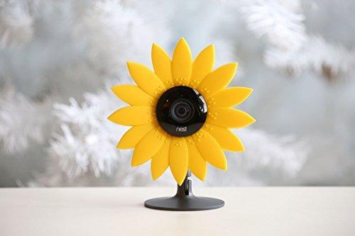 hide-your-cam Nest Cam Cámara de seguridad camuflaje Sun Flower Piel Carcasa disfraz decoración de protección también...