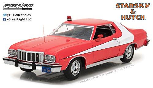 GreenLight - (1:24 Scale) Starsky and Hutch (TV Series 1975-79) - 1976 Ford Gran Torino - 84042