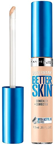 Maybelline New York Superstay Better Skin Concealer, Light, 0.25 Fluid Ounce