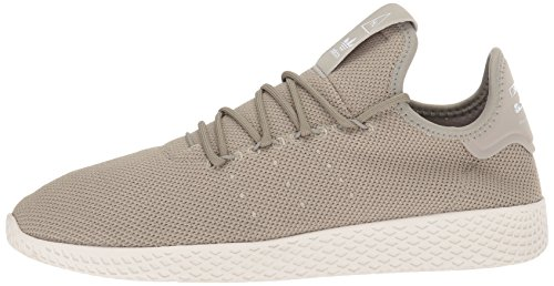 adidas Originals Men's Pharrell Williams Tennis HU Running Shoe Tech Beige/Chalk White, 4 Medium US by adidas Originals (Image #5)