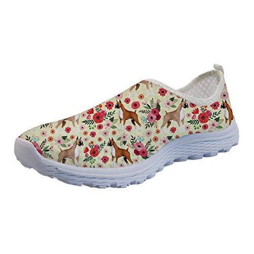 Shoes Running Mesh Slip Breathable 3 Sneaker Animal Teen Design Showudesigns Girls on Flat Women qzExP55w8
