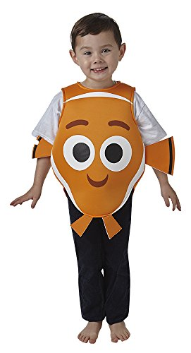 Rubie´s Rubie's Official Nemo Tabard Finding Dory, Disney Pixar Fancy Dress, Children Costume for Age 2-3, 98 cm - Toddler by for $<!--$44.32-->