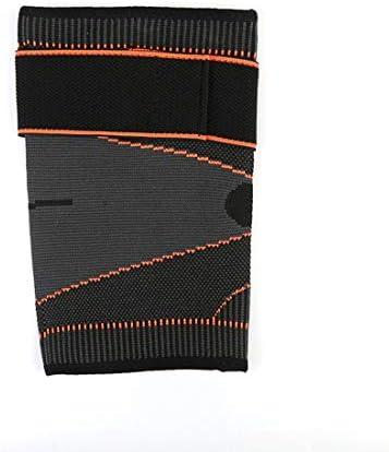 LilyAngel ユニセックスデザインアームプロテクションウェイトリフティングテニスとゴルフエルボージムボディービルディングエルボーパッド (Color : グレー, サイズ : Single)