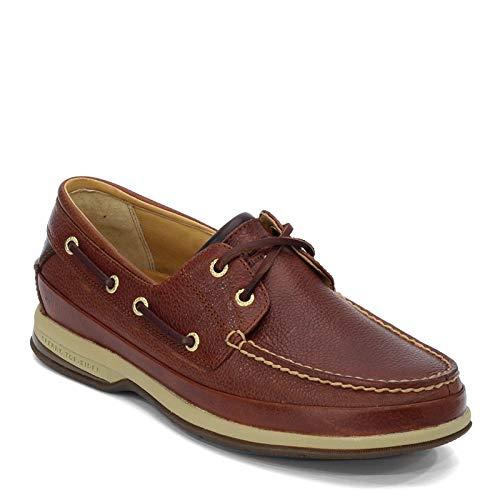 Sperry Mens Gold Boat w/ ASV Boat Shoe, Cognac, 10