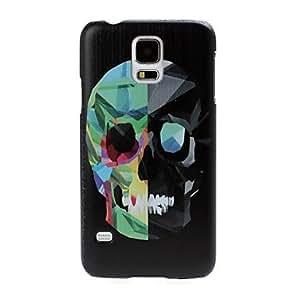 DUR Colorful Skull Pattern Plastic Hard Case for Samsung S5 I9600