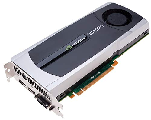 PNY NVIDIA Quadro 5000 VCQ5000-PB, 2.50 GB GDDR5 PCI Express Gen 2 x16 DVI-I DL Dual DisplayPort and Stereo OpenGL, DirectX, CUDA, and OpenCL Profesional Graphics Board (Certified Refurbished)