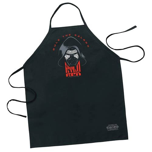 Star Wars Episode VII the Force Awakens Kylo Ren Apron