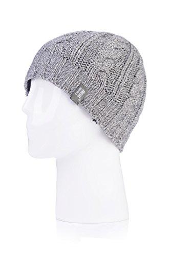 Heat Holders Ladies Knit Hat, Light Grey