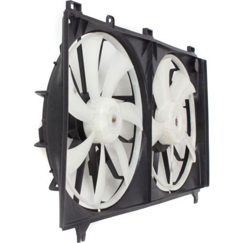 MAPM Premium IS250 06-13 RADIATOR FAN SHROUD Assembly, Dual Type, 2.5L Eng. by Make Auto Parts Manufacturing (Image #3)