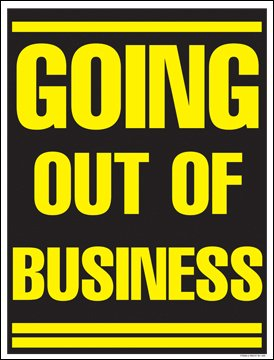 Amazon.com: Salir de ventana venta de negocios cartel ...