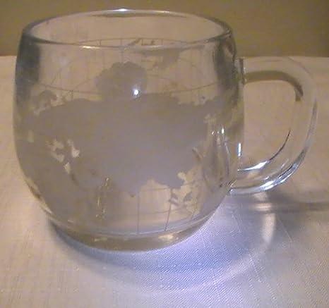 NESCAFE RETRO TASSE GLAS GLASS CUP