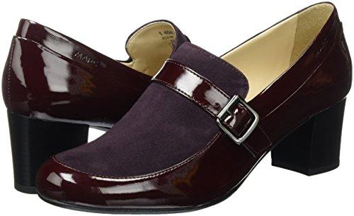 Tacón Shoes 00161 Zapatos Mujer bordo Rojo 40442 De Marc UfgAPU
