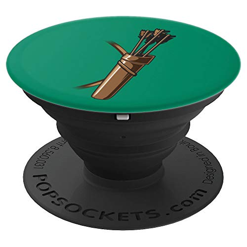 Archer Costume Halloween Design - Funny Archery Arrow Gift - PopSockets Grip and Stand for Phones and Tablets ()