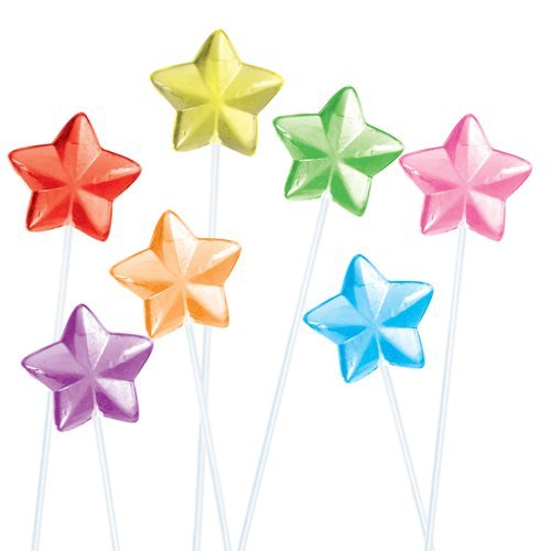 Solid Star Fancy Pops Assorted 6 Flavors - 100CT. -