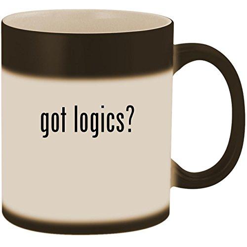 got logics? - 11oz Ceramic Color Changing Heat Sensitive Cof