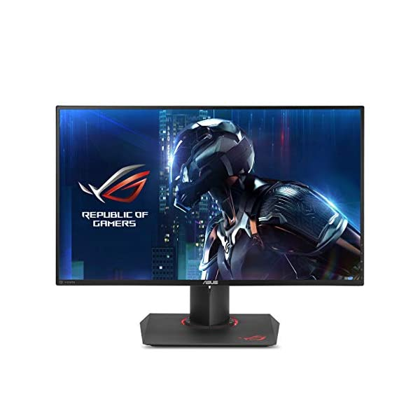 "ASUS ROG PG279Q 27"" WQHD 1440p IPS 165Hz DisplayPort Adjustable Ergonomic EyeCare G-SYNC Gaming Monitor 1"