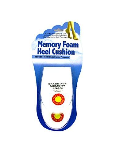 Memory foam heel cushion, Case of 144