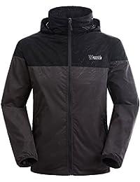 Men's Lightweight Packable Jacket UV Protect Quick Dry Windproof Skin Coat