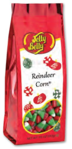 Candy Corn Treat Bags - Jelly Belly Reindeer Corn (Candy Corn) 7.5 Ounce Gift Bag