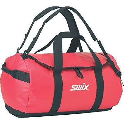 Swix Ski Gear Water Resistant Gear Bag Duffle, Large, Black Swix Sport USA R0297c