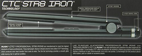 RUSK Engineering CTC Technology Professional Straight Iron, 1 Inch