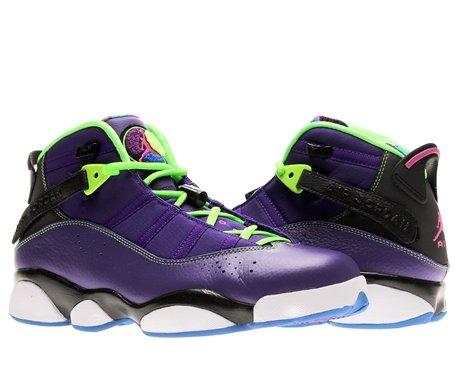 nike air jordan 6 rings mens basketball trainers 322992 515 sneakers shoes jumpman23 (uk 11 us 12 eu 46) Air Jordan 6 Rings