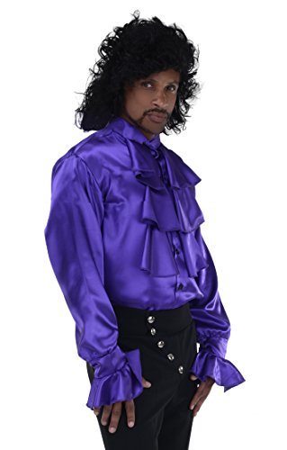 Men's 80's Pop Star Costume Shirt