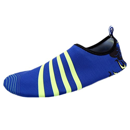 Womens for Socks Santimon Beach Mens Pool Swim Exercise Wave Sports Aqua Water Simply Yoga Blue On Slip Shoes 6pqzzS