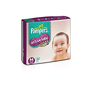 Pampers Active Baby Medium Size...