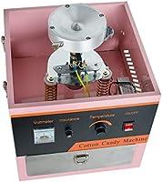WWXXCC Algodón de azúcar eléctrica Cafetera, Máquina de algodón de ...