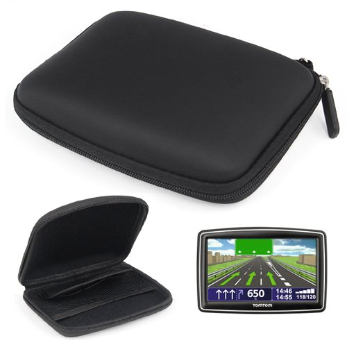Dcolor Funda Caja Soporte Duro 5 de Nav GPS de Coche para TomTom XXL IQ Routes