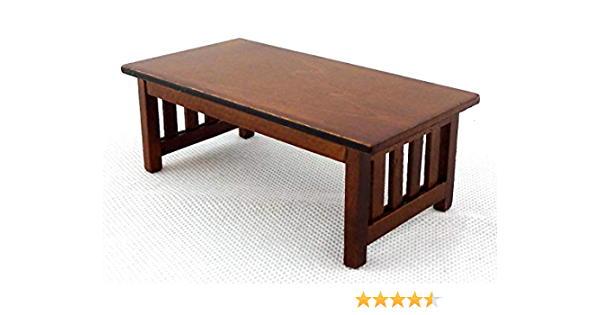 dolls house furniture Dijon coffee table 1//12th scale toy