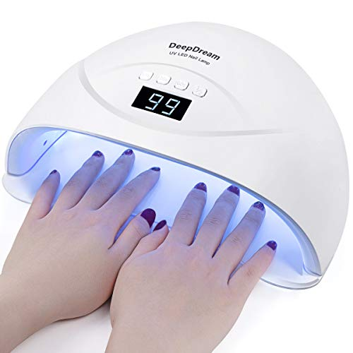 DeepDream 54W Gel Nail Lamp UV LED Dryer Curing Lamps Light Fingernail & Toenail Polish Art Professional