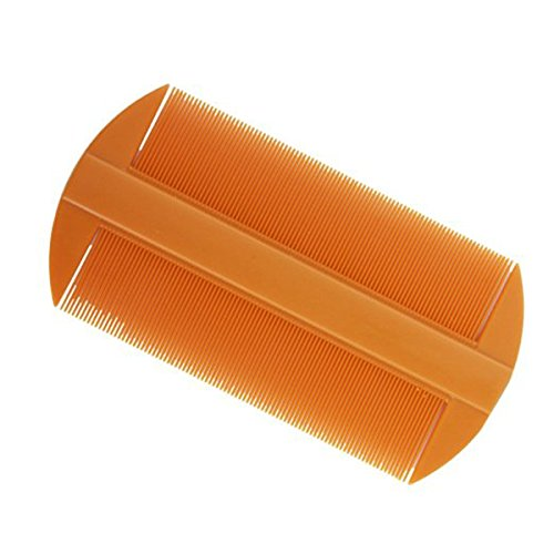 Winomo lice comb, plastic tines, flea comb, nit, dog, cat comb, 12 pieces