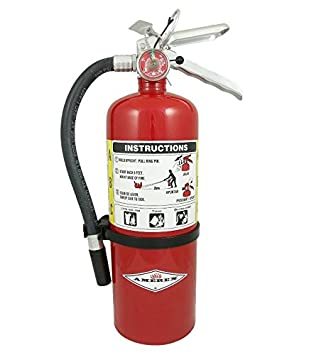 AMEREX B402 Fire Extinguisher, Dry Chemical, 3A 40B C Pack of 2