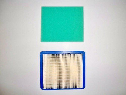 Air Filter Plus Pre-Filter Replaces Briggs & Stratton 491588, 491588S Air Filter; 491435, 491435S Pre-Filter. (Briggs Stratton 491588 Air Filter compare prices)