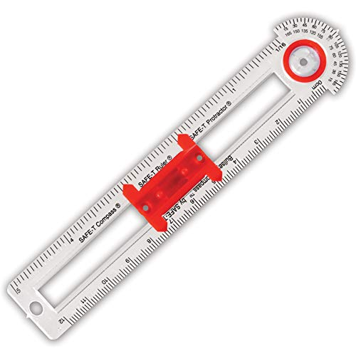 (Learning Resources Safe-T Bullseye Compass, Pack of 12)