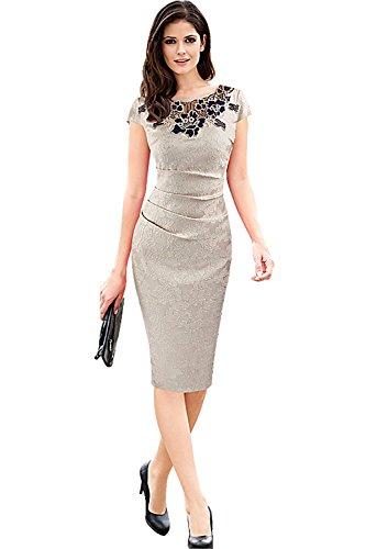 Elegante kleider kurz mit armel