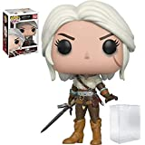 Funko Pop! Games: The Witcher - Ciri Vinyl Figure #150 (Bundled with Pop BOX PROTECTOR CASE)