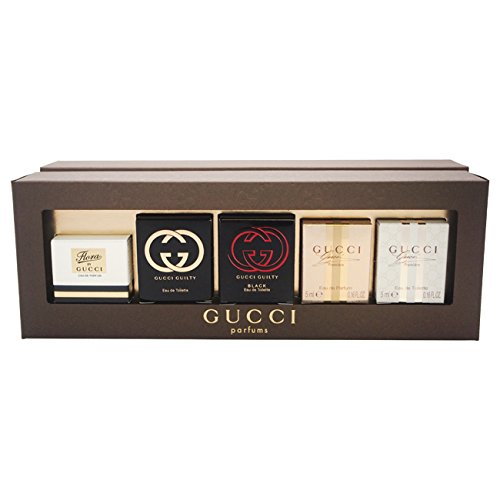 Gucci By Gift Set - Gucci Variety Fragrance Set, 5 Count